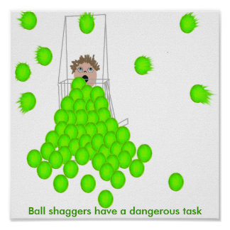 La bola Shaggers tiene una tarea peligrosa Impresiones