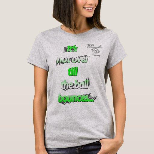 la bola verde despide la camiseta básica de las