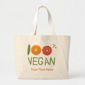 La bolsa de asas 100 del vegano de m I