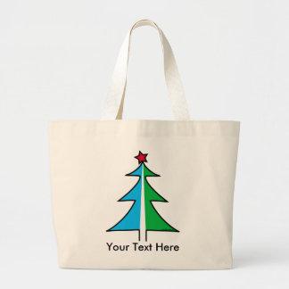 La bolsa de asas adaptable del árbol de navidad