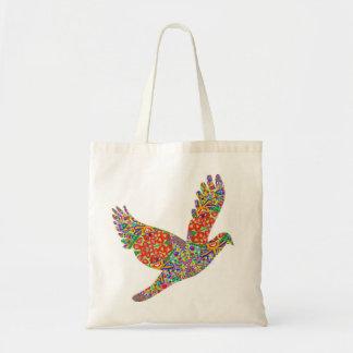 La bolsa de asas AFORTUNADA del pájaro del ángel