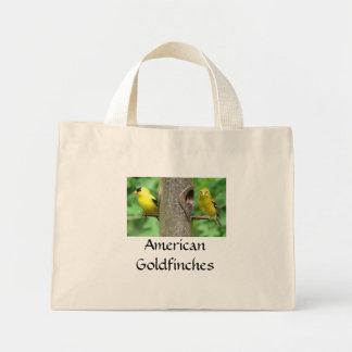 La bolsa de asas americana de los Goldfinches