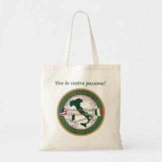 La bolsa de asas Americano-Italiana oficial del bl