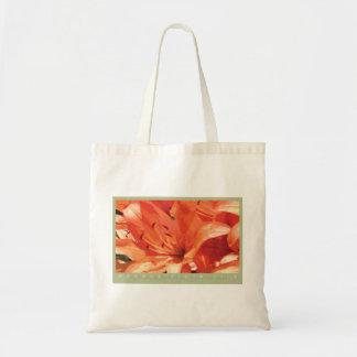 La bolsa de asas anaranjada del lirio tigrado
