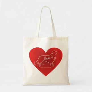 La bolsa de asas arrogante del amor