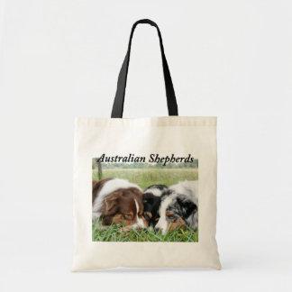 La bolsa de asas australiana de la lona del pastor