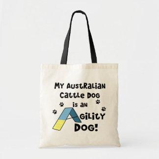 La bolsa de asas australiana del perro de la agili
