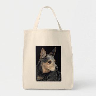 La bolsa de asas australiana del perro del ganado