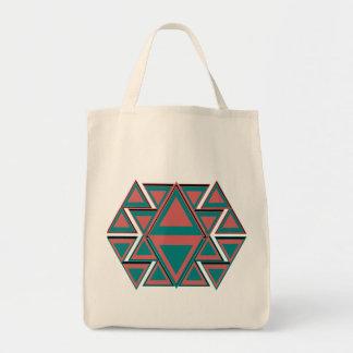La bolsa de asas azteca tribal del ultramarinos