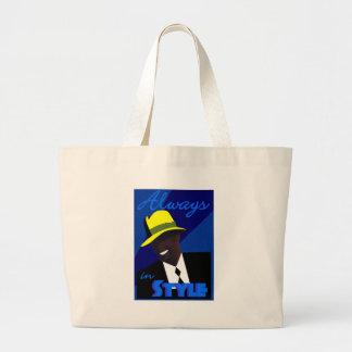 """La bolsa de asas azul de """"FEDORA"""""""
