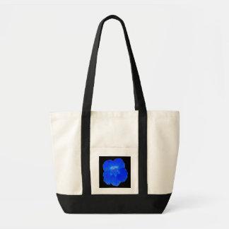 La bolsa de asas azul de la capuchina