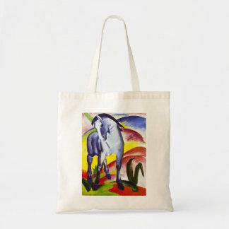La bolsa de asas azul del caballo de Franz Marc
