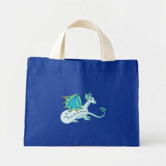 La bolsa de asas azul del dragón del hielo