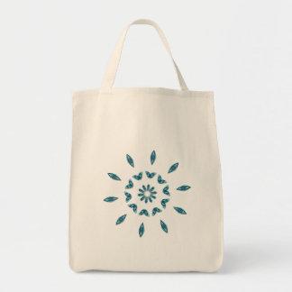 La bolsa de asas azul del florete