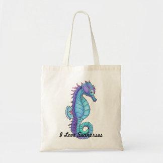 La bolsa de asas azul del Seahorse