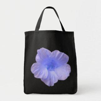 La bolsa de asas azul hermosa de la capuchina