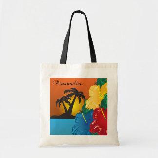 La bolsa de asas - bolso tropical de la playa de l