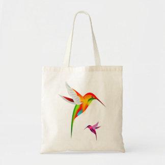 La bolsa de asas bonita del colibrí