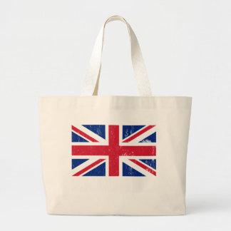 La bolsa de asas británica de la bandera de Union