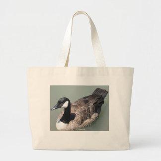 La bolsa de asas canadiense del ganso