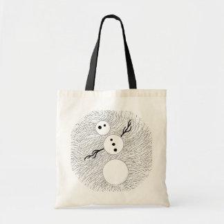 La bolsa de asas caprichosa del regalo del arte