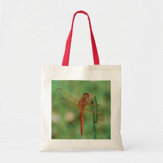 La bolsa de asas cardinal de la libélula de Meadow