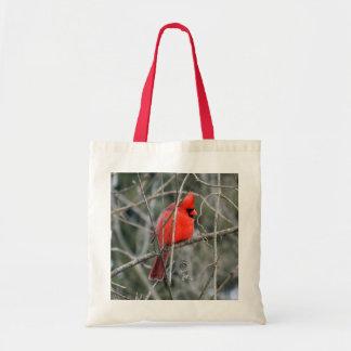 La bolsa de asas cardinal roja real