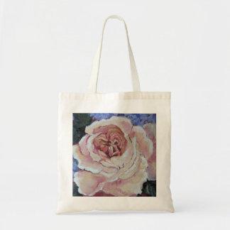 La bolsa de asas color de rosa antigua