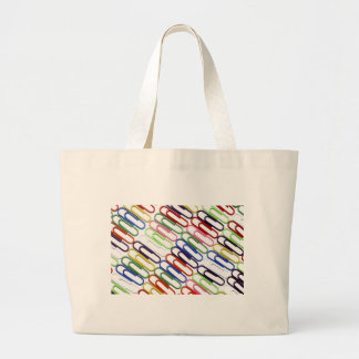 La bolsa de asas coloreada de los Paperclips