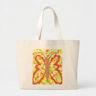 La bolsa de asas colorida, de oro del extracto de
