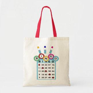 La bolsa de asas colorida del bingo del KRW