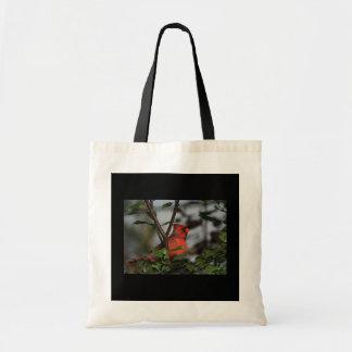 ¡La bolsa de asas con el cardenal!