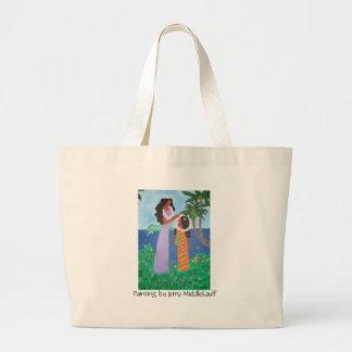 La bolsa de asas con la mamá y la hija de Tahitian