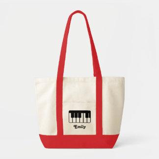 La bolsa de asas conocida de la música del piano