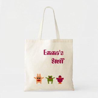 La bolsa de asas conocida Emma del presupuesto de