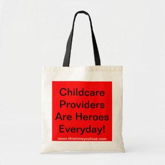 La bolsa de asas. ¡Cuidado de niños ProvidersAre H
