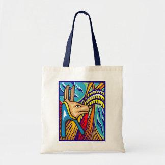 La bolsa de asas de Anubis del egipcio
