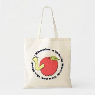 La bolsa de asas de Apple del profesor
