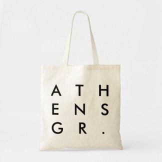 La bolsa de asas de Atenas, Grecia