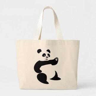 La bolsa de asas de Avatar de la panda