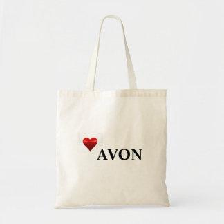 La bolsa de asas de AVON del amor