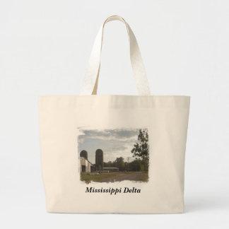 La bolsa de asas de Backroad del delta de Mississi