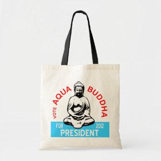 La bolsa de asas de Buda de la aguamarina