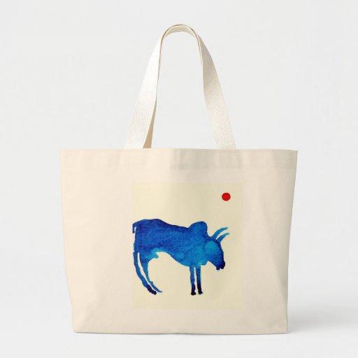 La bolsa de asas de Bull de la aguamarina