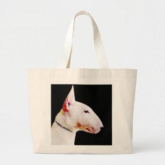La bolsa de asas de bull terrier