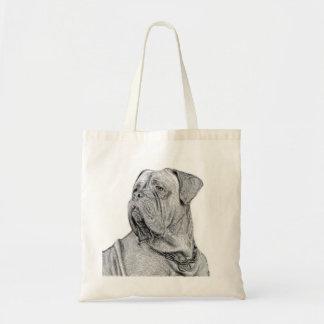 La bolsa de asas de Dogue de Bordeaux
