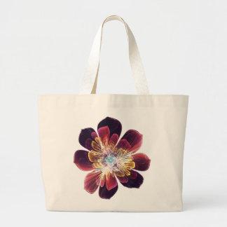 La bolsa de asas de encargo de la flor el | del
