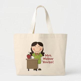 La bolsa de asas de encargo del profesor