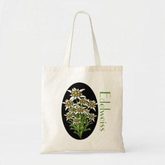 La bolsa de asas de encargo floral elegante de Ede