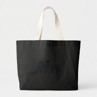 La bolsa de asas de encargo linda del regalo del n